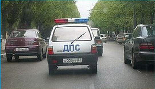 «Берегись автомобиля»: от полиции по болотам